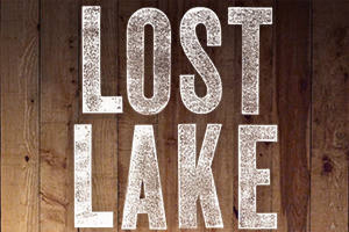 Wood Lake Sign Id rather be lost at the Lake than found