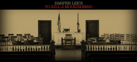 Image result for to kill a mockingbird broadway logo