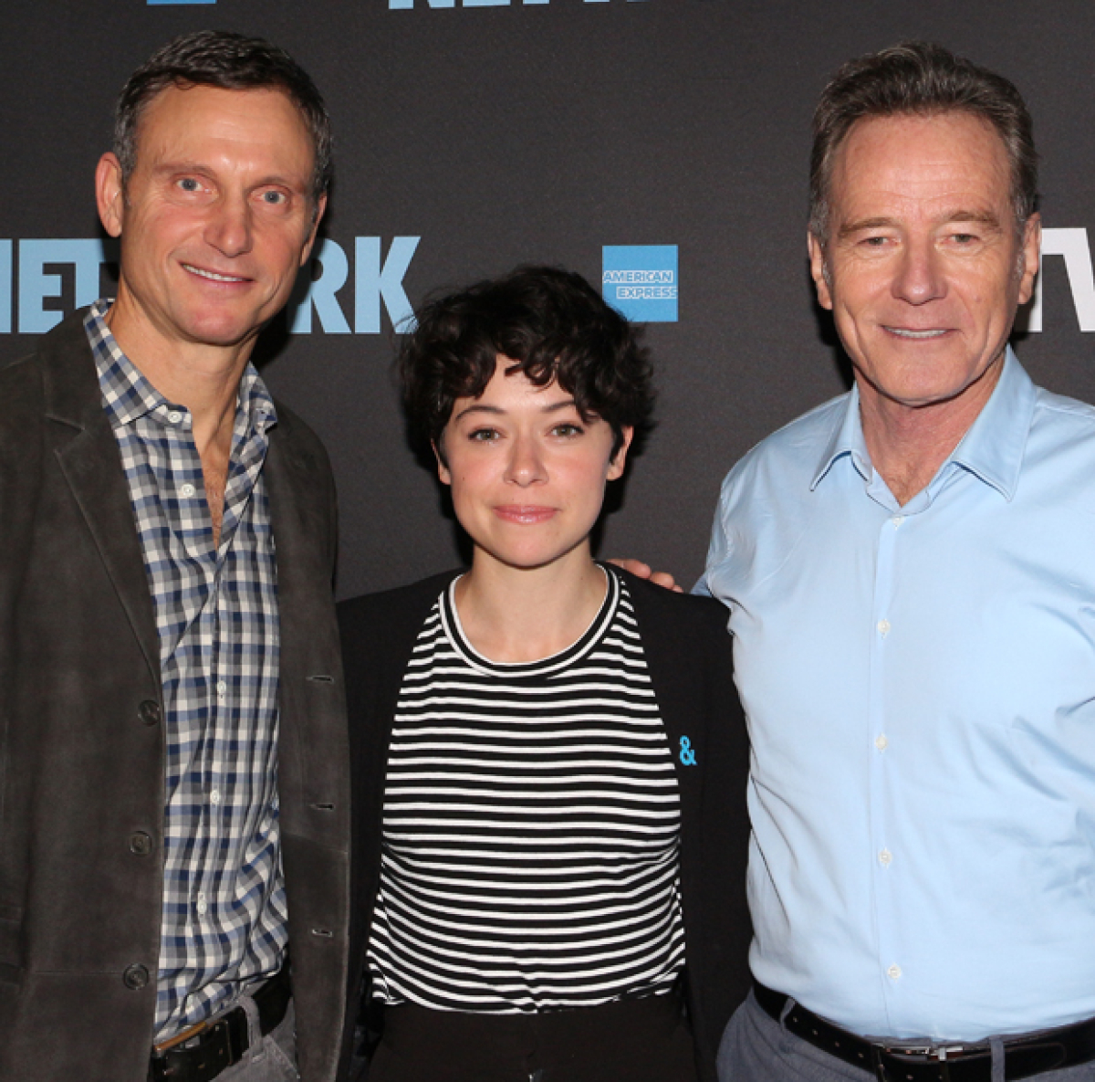 Bryan Cranston, Tatiana Maslany, and Tony Goldwyn Preview Network on Broadway