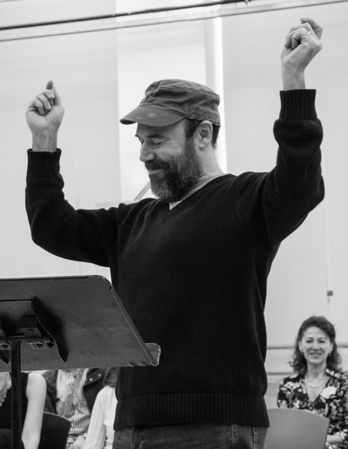 To Life Danny Burstein And More Rehearse Broadway S