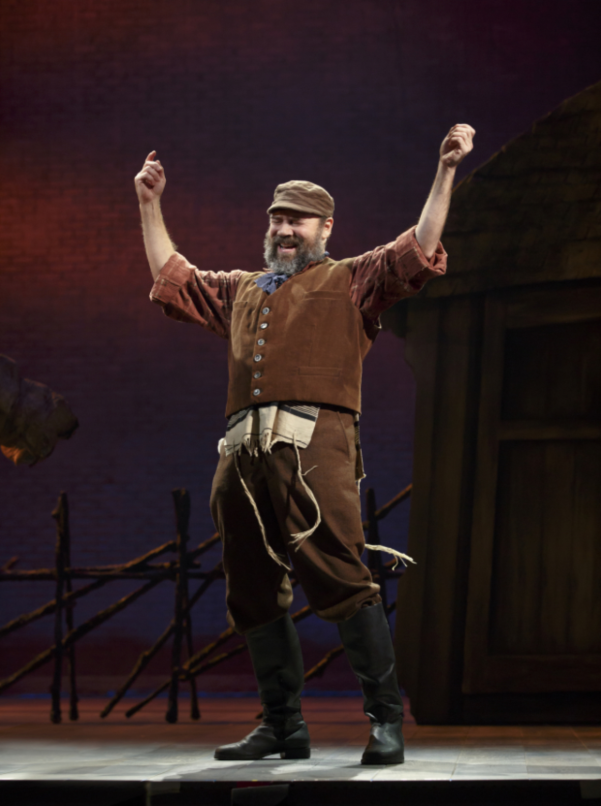 Danny Burstein Becomes Tevye In New Production Photos From