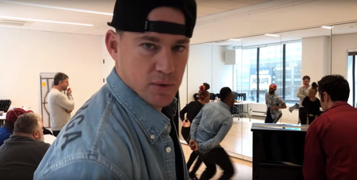Channing Tatum Brings Us Behind the Scenes of Magic Mike the Musical