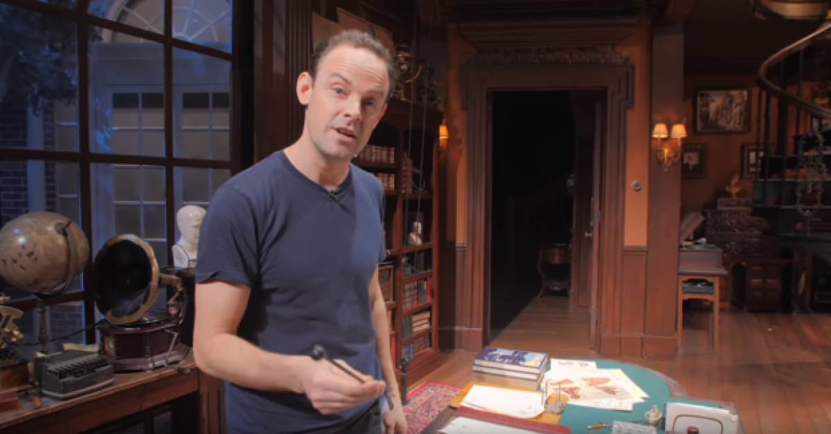 Harry Hadden-Paton Gives a Tour of His House on the Set of My Fair Lady