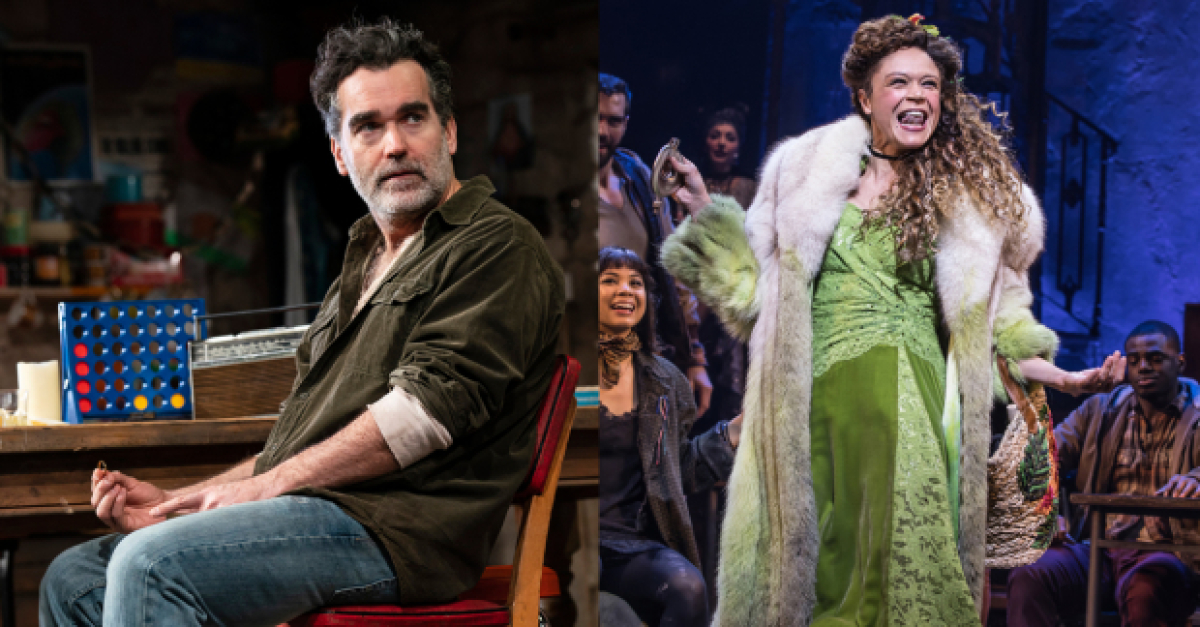 Brian d'Arcy James, Amber Gray, and More in Our Critics' Weekly Faves