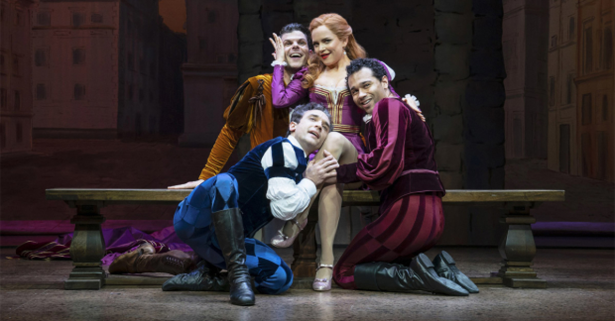 EXCLUSIVE: Hear Stephanie Styles, Corbin Bleu, and More on Kiss Me, Kate Cast Album | TheaterMania