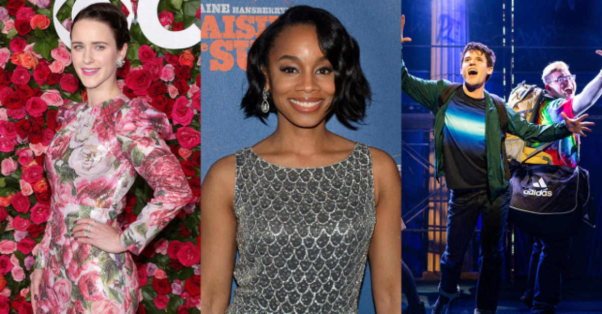 The Weekend Report: Rachel Brosnahan, Anika Noni Rose, and a Revised Lightning Thief Schedule   TheaterMania