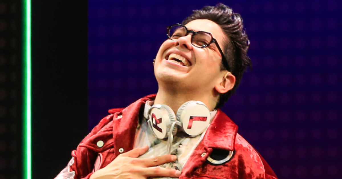 Final Bow: George Salazar Thinks Michael Mell Will Be Cool in College | TheaterMania