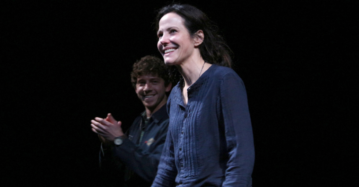 The Sound Inside, Starring Mary-Louise Parker and Will Hochman, Opens on Broadway | TheaterMania