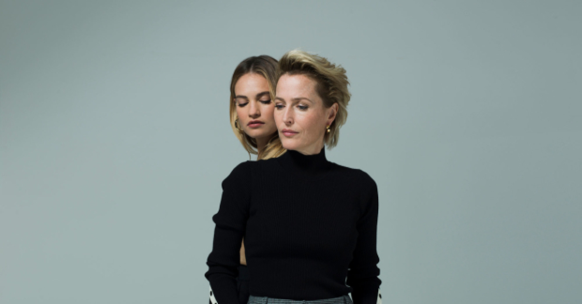 Gillian Anderson and Lily James Heading to Movie Theaters in All About Eve