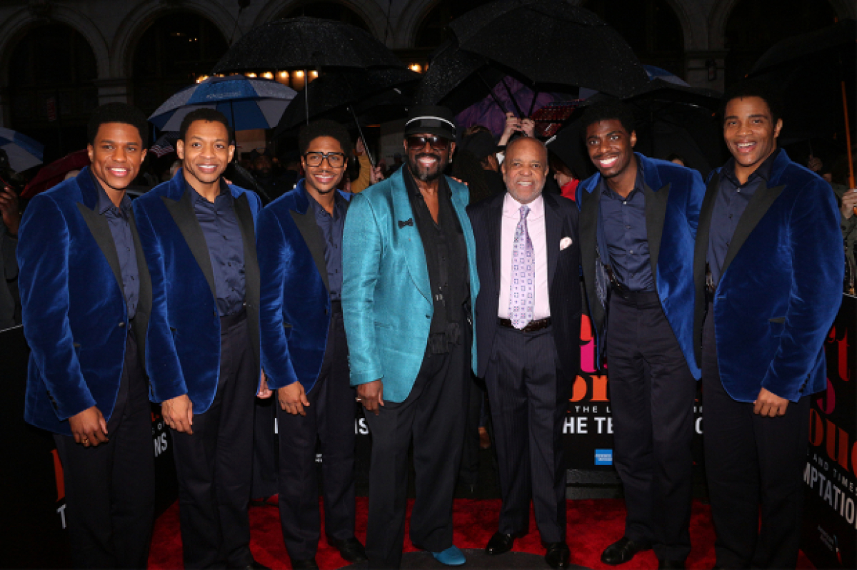 Motown Legends Celebrate the Temptations as Ain't Too Proud Opens on Broadway