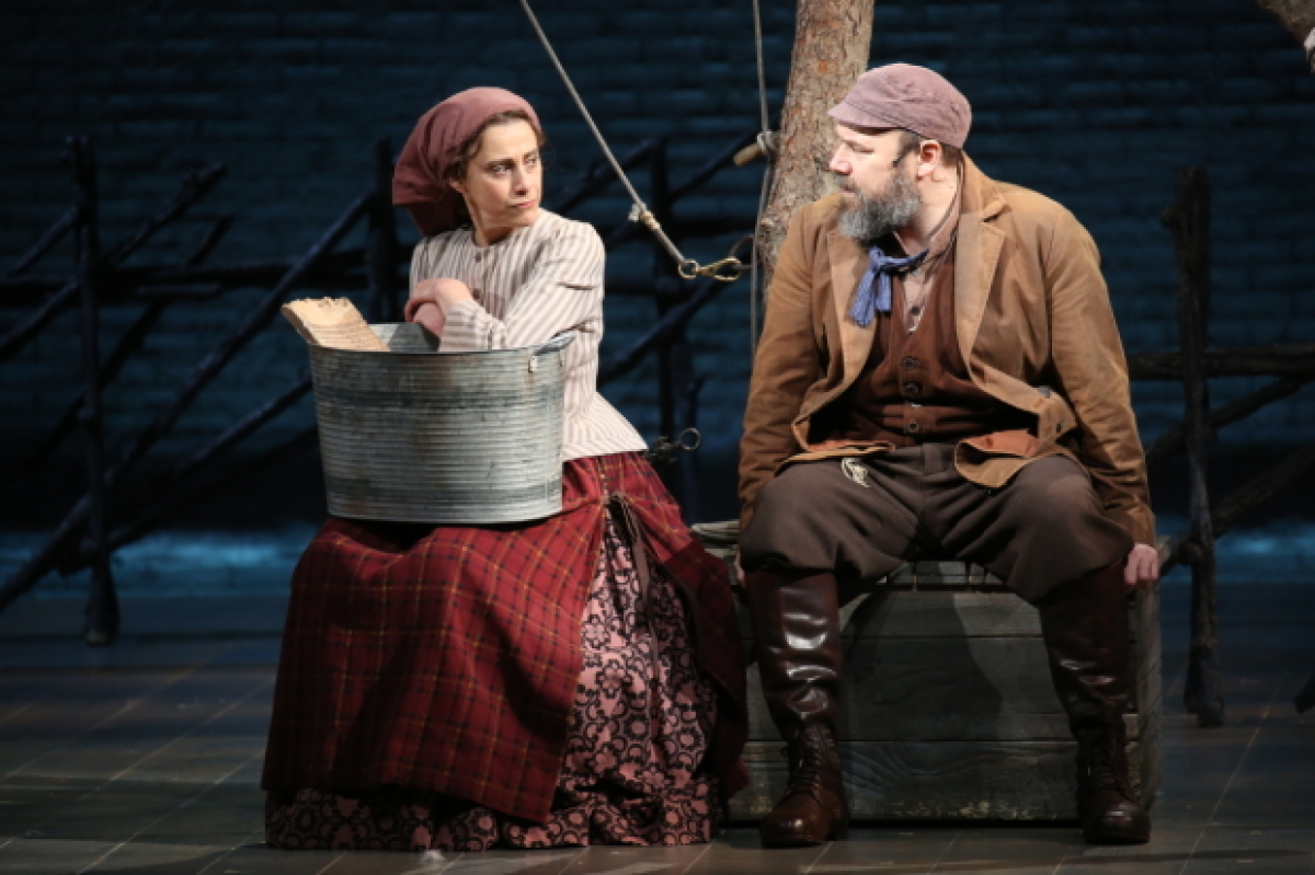 Judy Kuhn Joins Fiddler On The Roof S Danny Burstein As