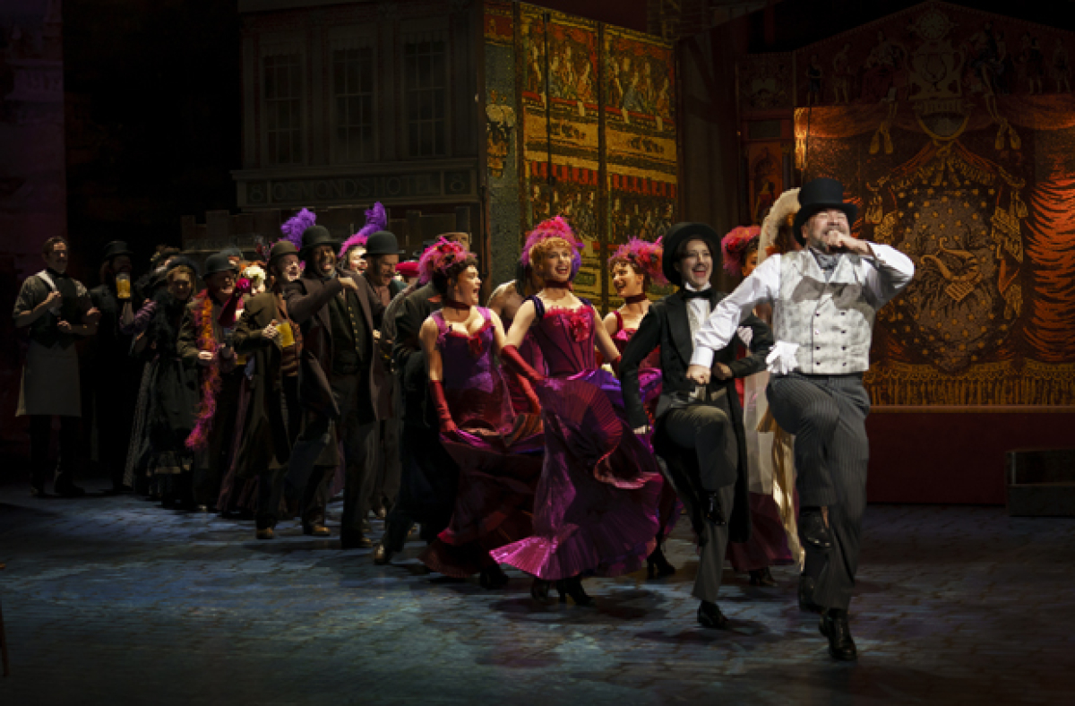 See Danny Burstein and Christian Dante White in My Fair Lady