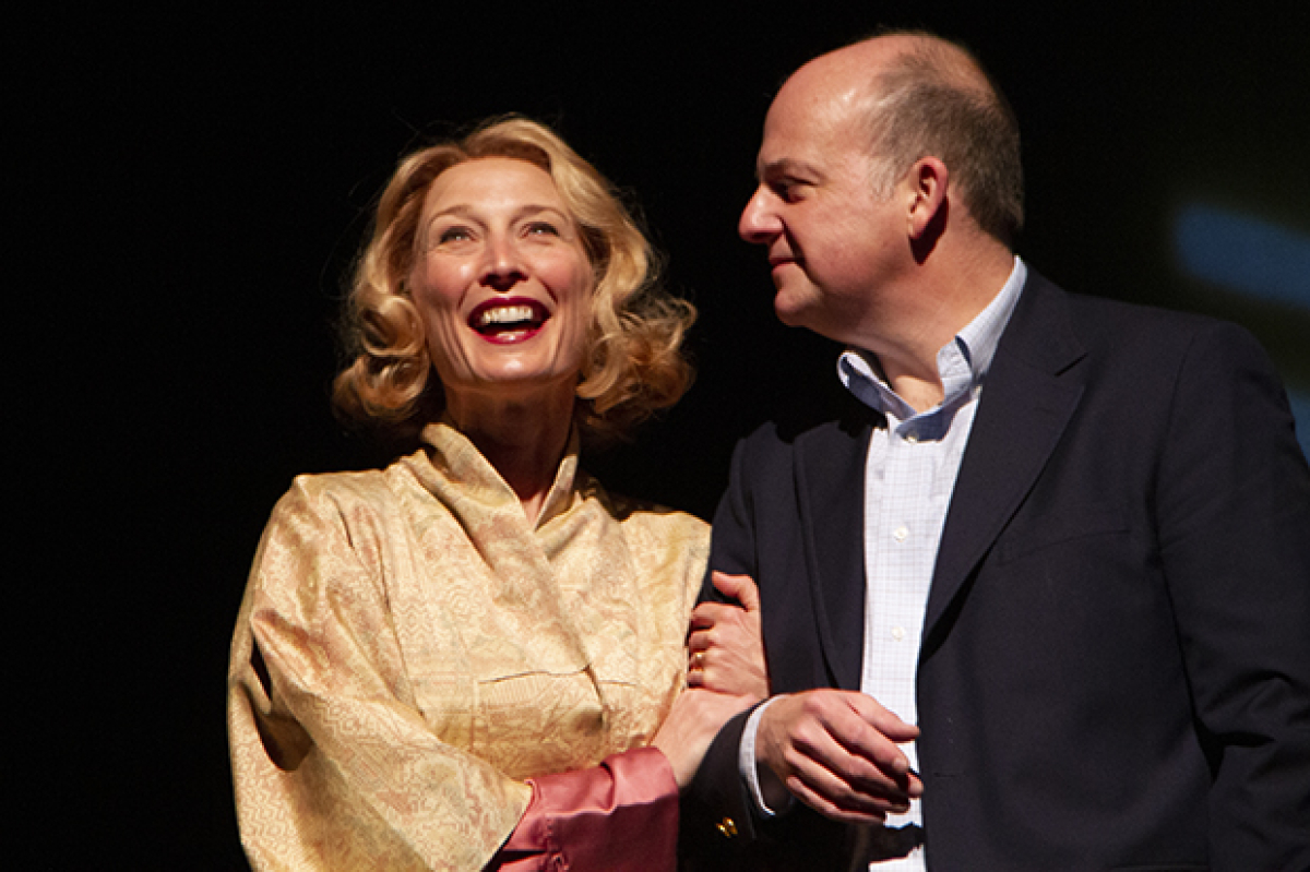 carrie paff and jeffrey bean star in calvin trillinand39s 142092.'