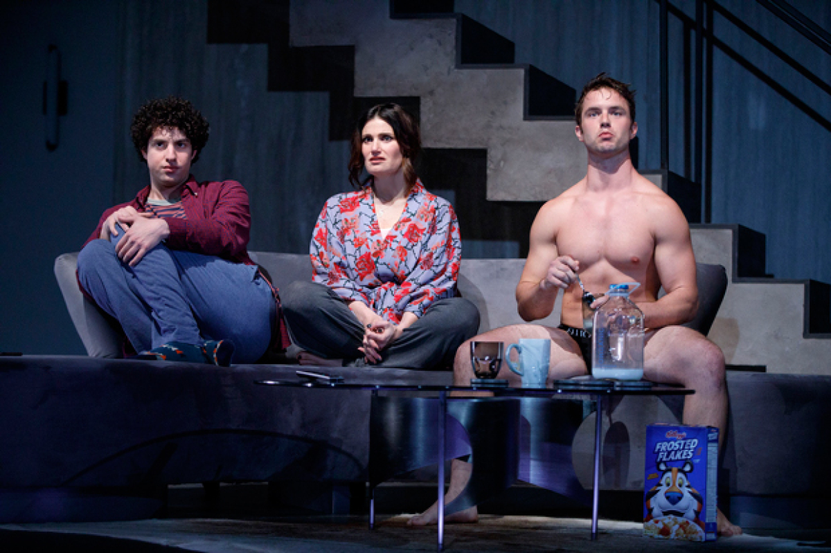 Will Brittain and More to Join Idina Menzel in West Coast Premiere of Skintight | TheaterMania