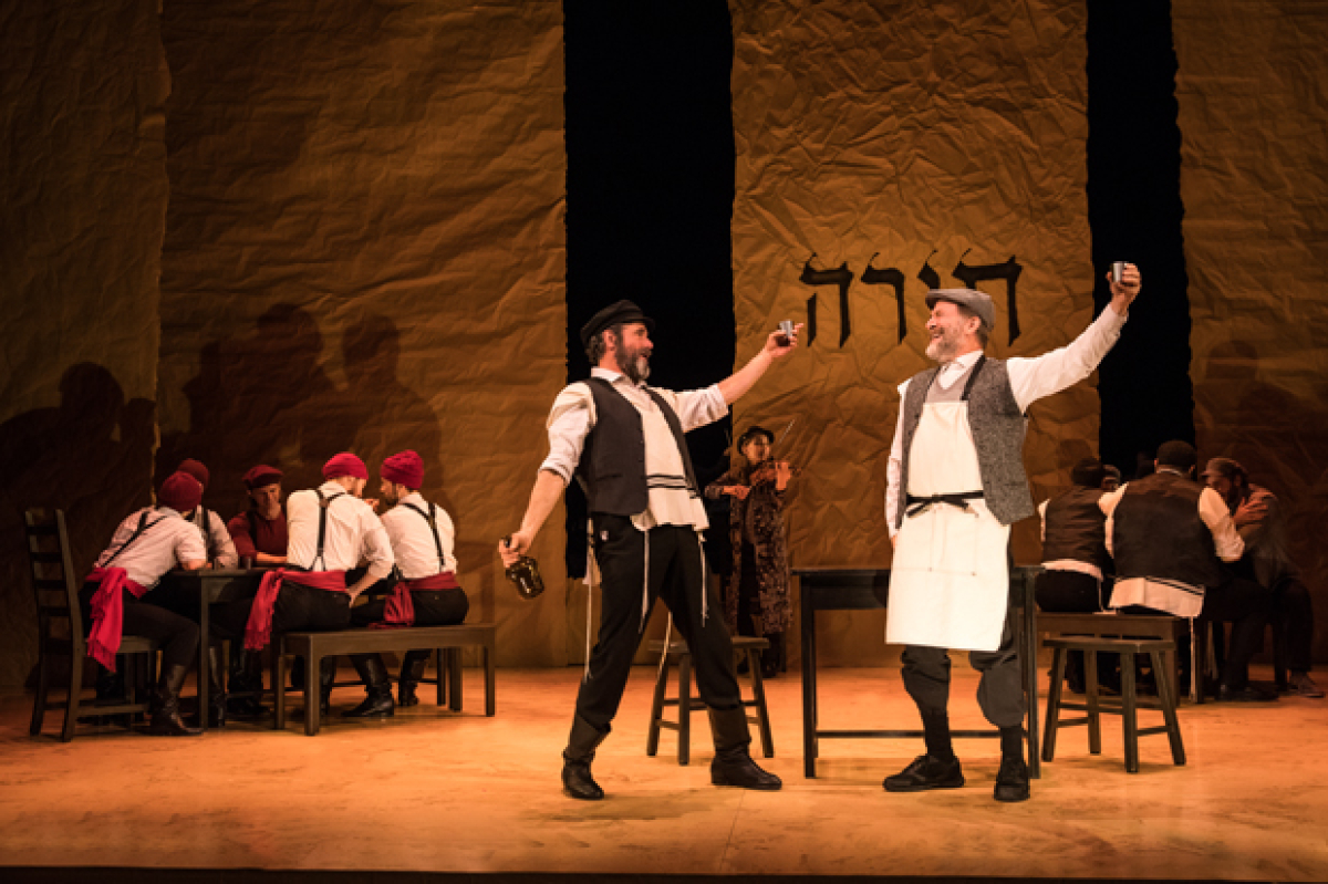 Yiddish Fiddler on the Roof Revival to Host Benefit Evening for YES Project   TheaterMania