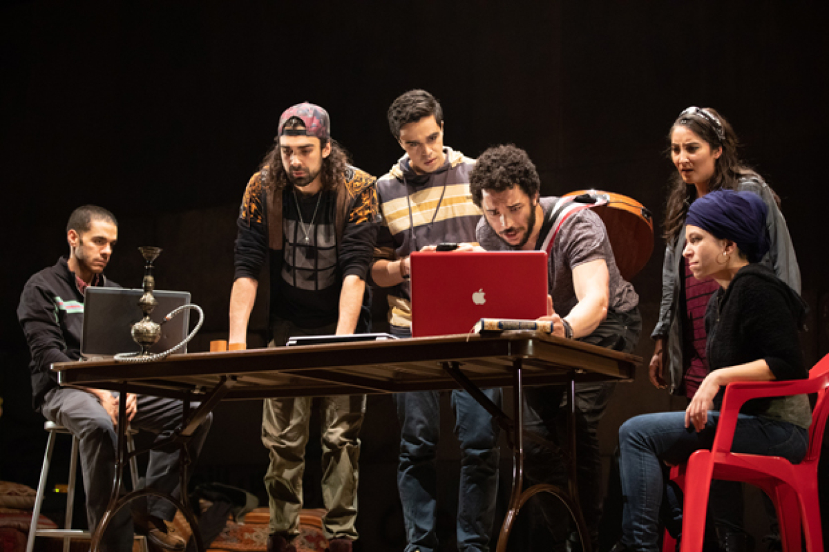 We Live in Cairo at American Repertory Theater Releases Production Photos | TheaterMania