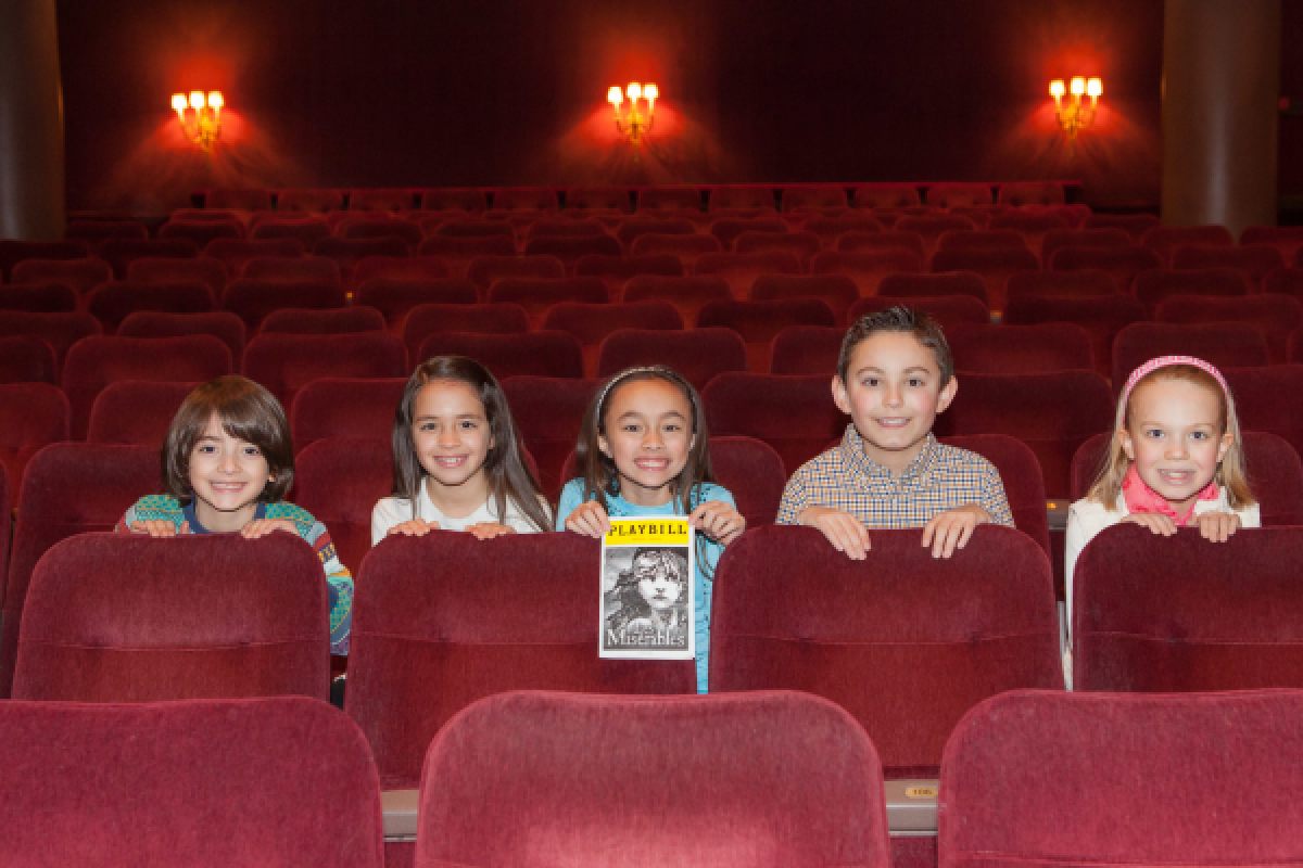 Five Broadway Debuts From Five Excited Miz Kidz Theatermania