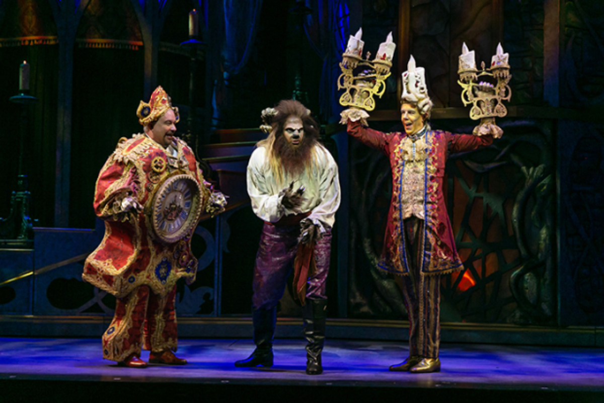 Watch Scenes From Beauty and the Beast at Paper Mill ...