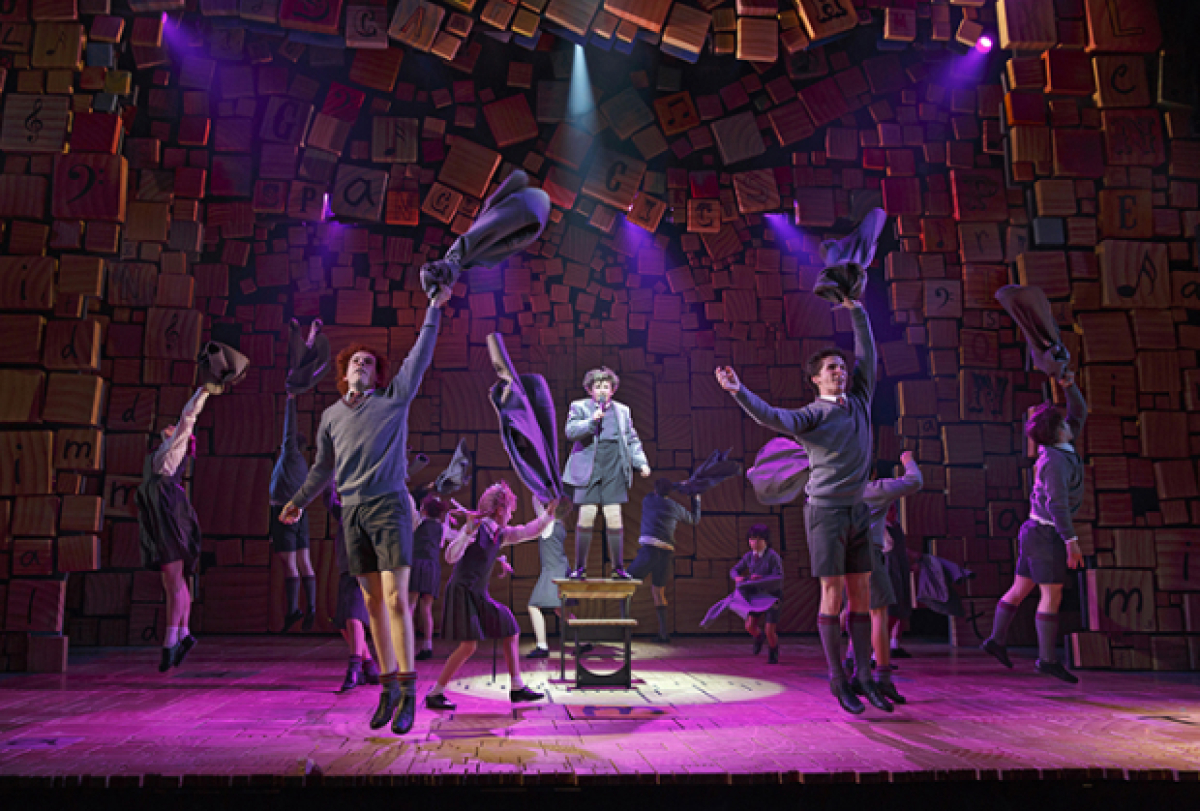Matilda The Musical Sets Film Adaptation in Motion | TheaterMania