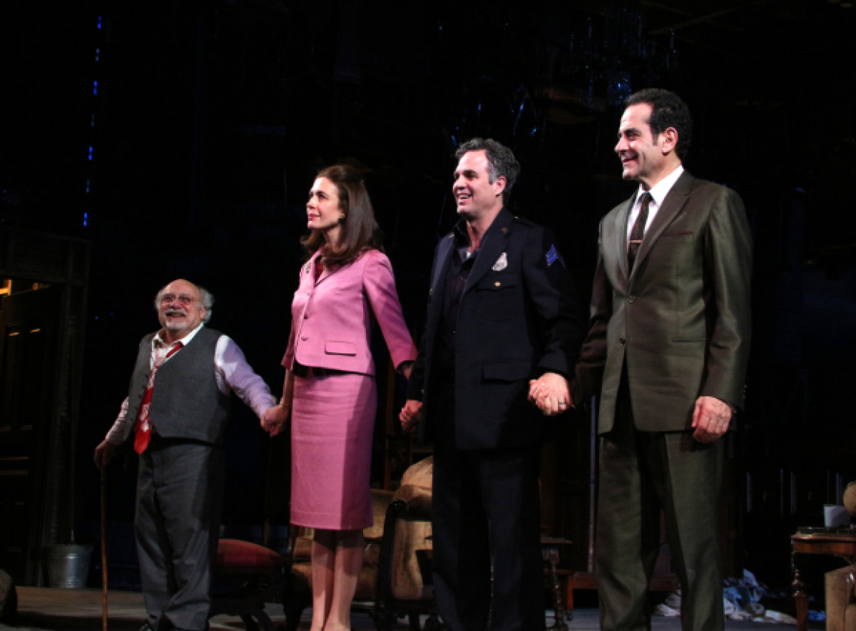 Tony Danza Marilu Henner And More See Danny Devito And
