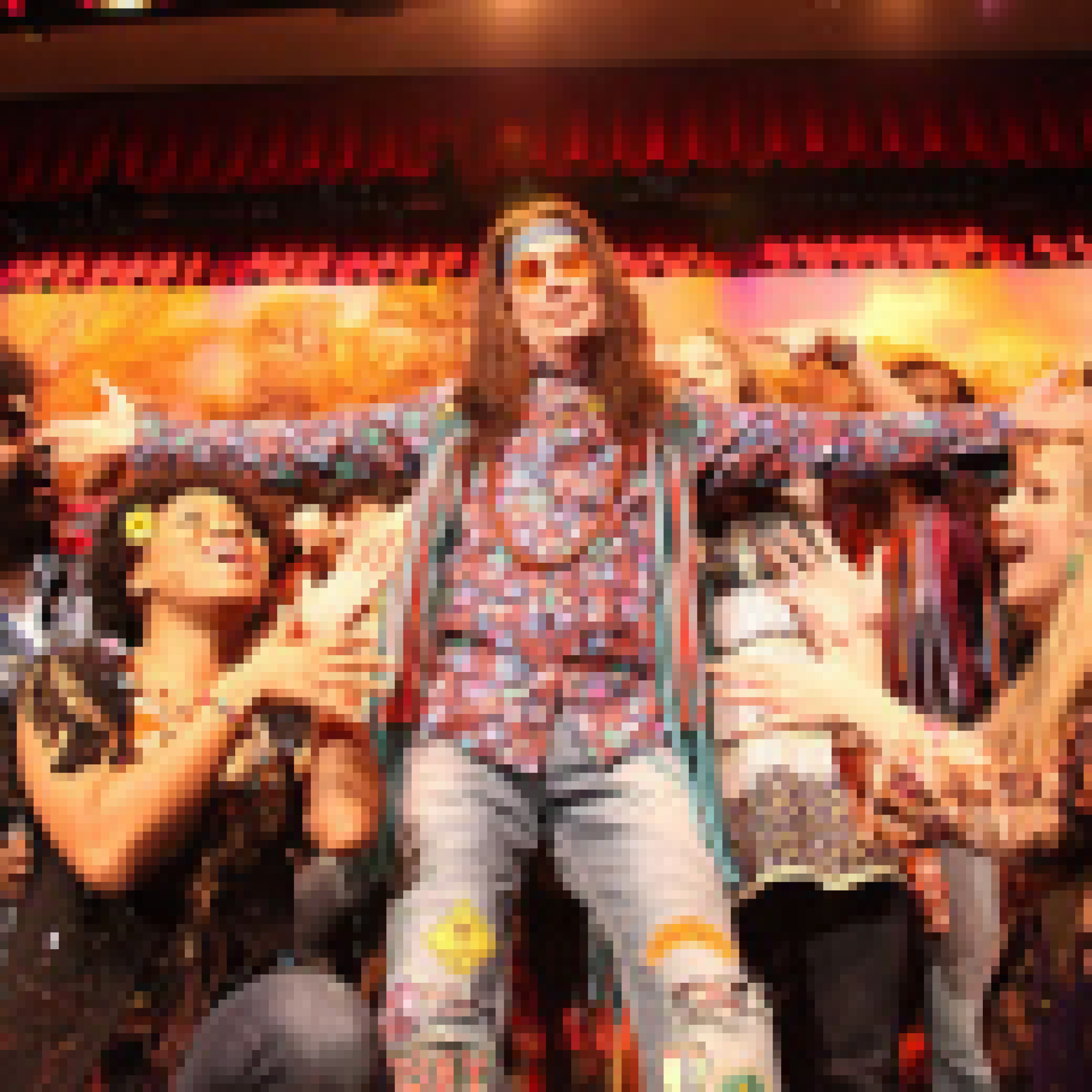 Photo Flash Mayor Bloomberg Performs With Hair Cast At Inner