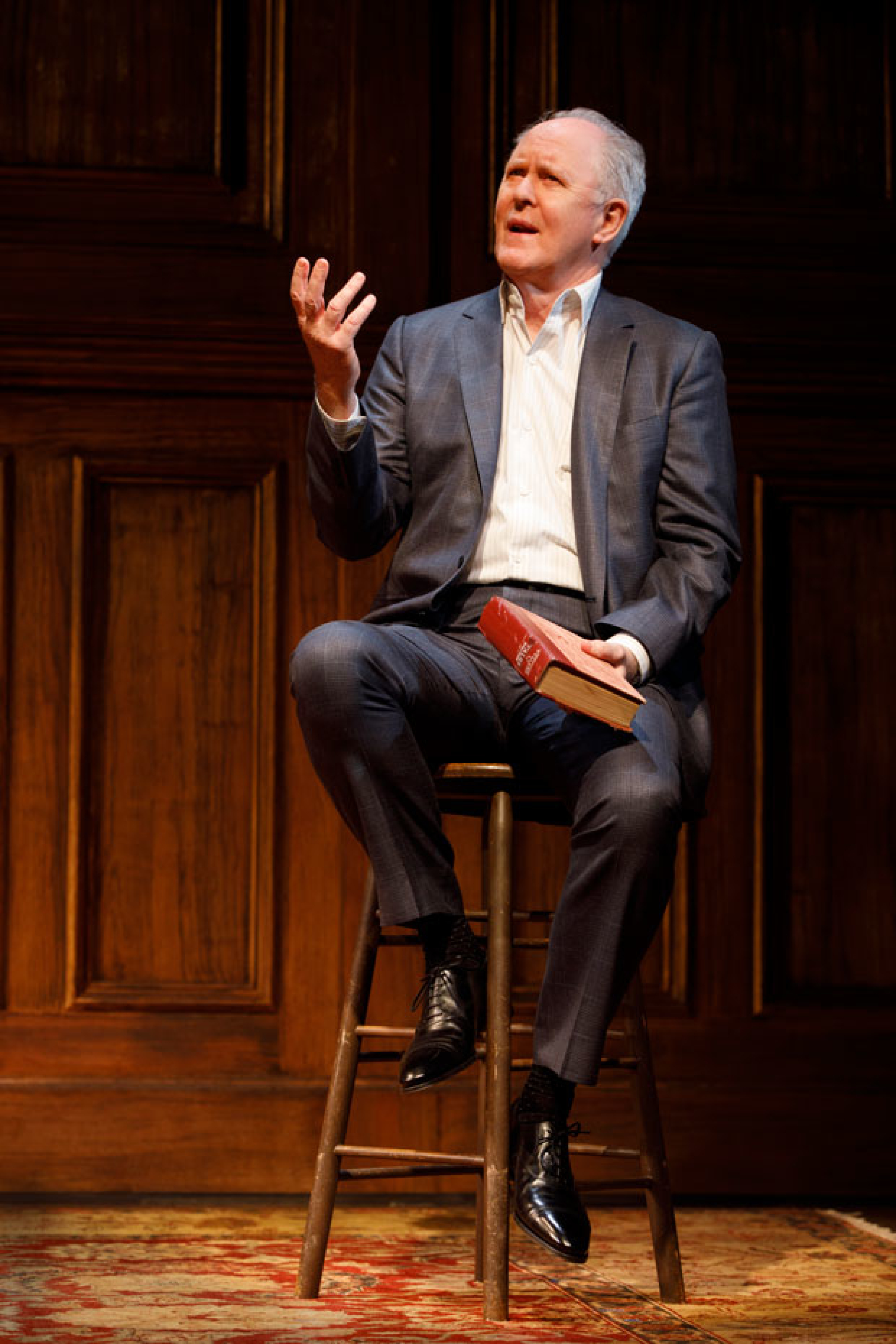 John Lithgow Stories By Heart Theatermania