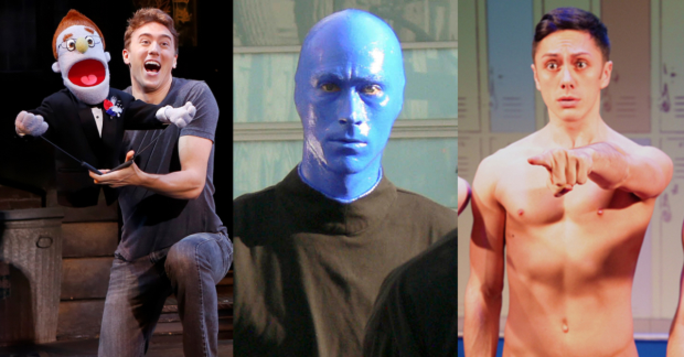 Andrea Lewis Nude that's still running? 11 off-broadway shows still going