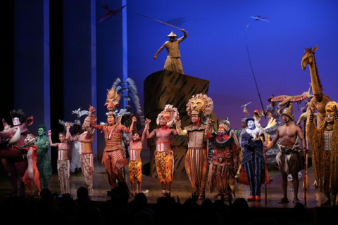 Elton John Joins The Lion King Cast For 20th Anniversary On