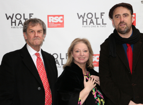 new styles 2d940 fa2ea Stars Arrive for the Broadway Premiere of Wolf Hall: Parts 1 ...