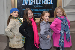 The Four Young Stars Of Matilda Oona Laurence Bailey Ryon Sophia Gennusa