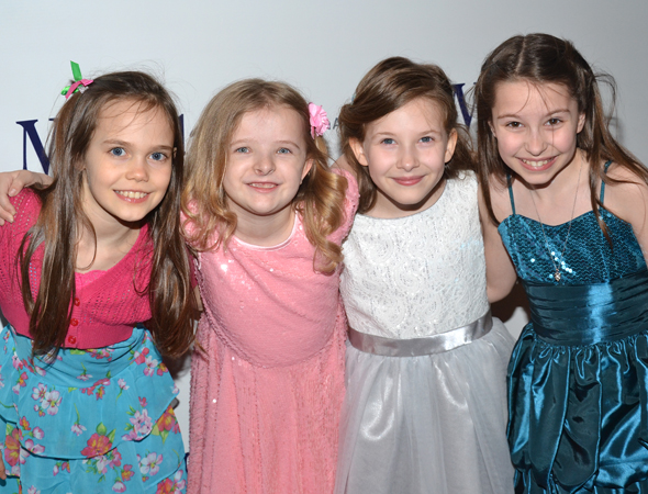 The Four Young Ladies Who Share Role Of Matilda Oona Laurence Milly Shapiro