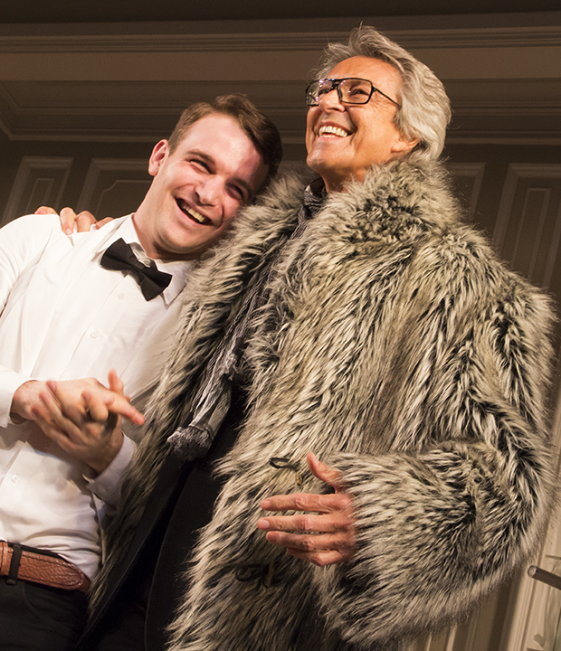 ac87860e3ba713 Tommy Tune Surprises Micah Stock Onstage at Broadway s It s Only a ...