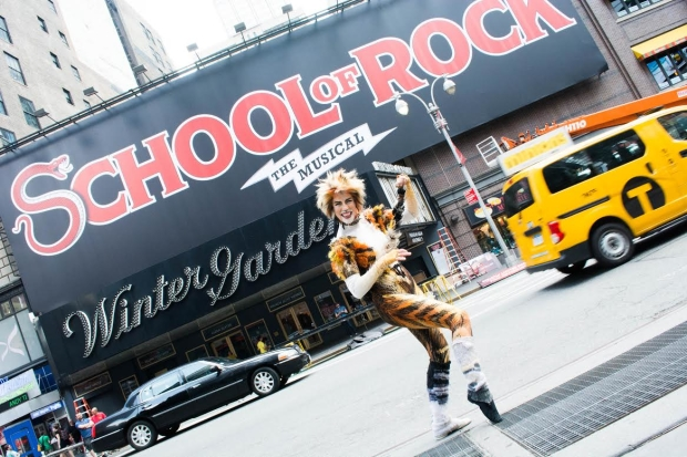 Demeter From Cats Welcomes Andrew Lloyd Webbers School Of Rock To