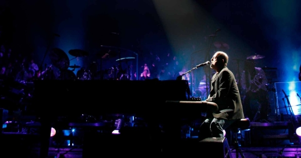 Billy Joel Takes The Stage At Madison Square Garden.