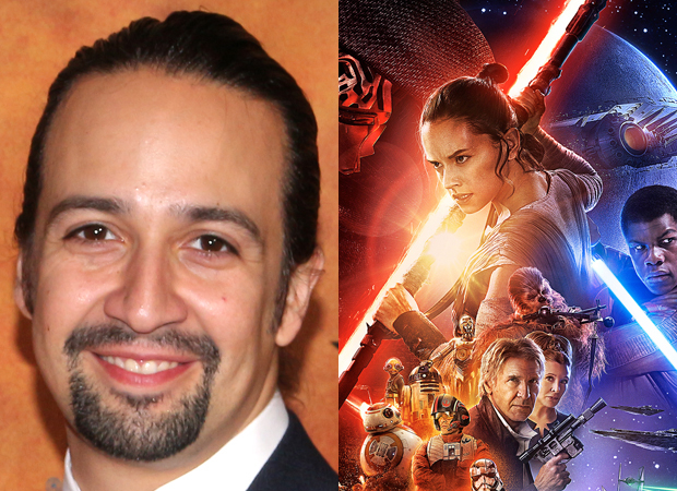Hamilton S Lin Manuel Miranda Adds J J Abrams New Star Wars Movie To His Résumé Theatermania