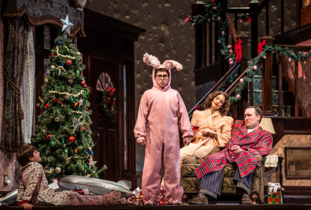 a favorite holiday film gets the broadway treatment at paper mill playhouse - What Channel Is A Christmas Story On