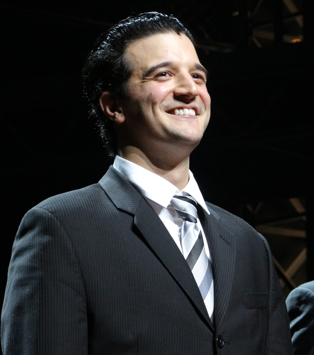Mark Ballas Takes First Curtain Call in Broadway's Jersey