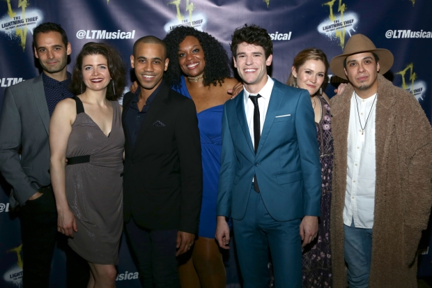 The Cast Of Lightning Thief Percy Jackson Musical Directed By Joe Tracz