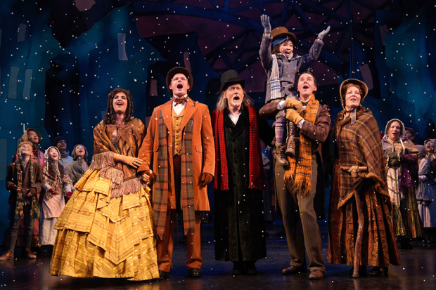 the cast of a christmas carol directed by carey perloff and paul walsh at act - Cast Of Christmas Carol