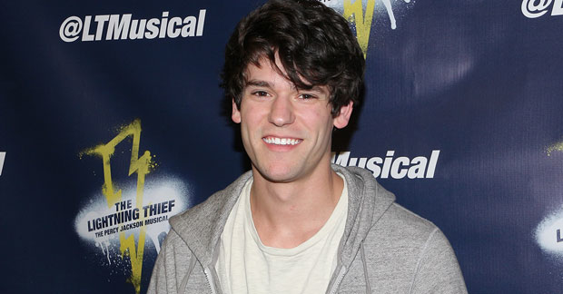 Chris McCarrell Will Return To The Title Role In Lightning Thief Percy Jackson