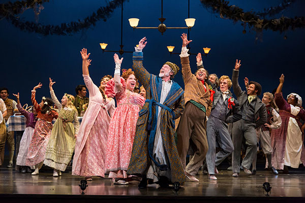 a scene from mccarter theatre centers a christmas carol