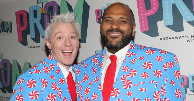 Clay Aiken and Ruben Studdard will star in a Christmas concert on Broadway.