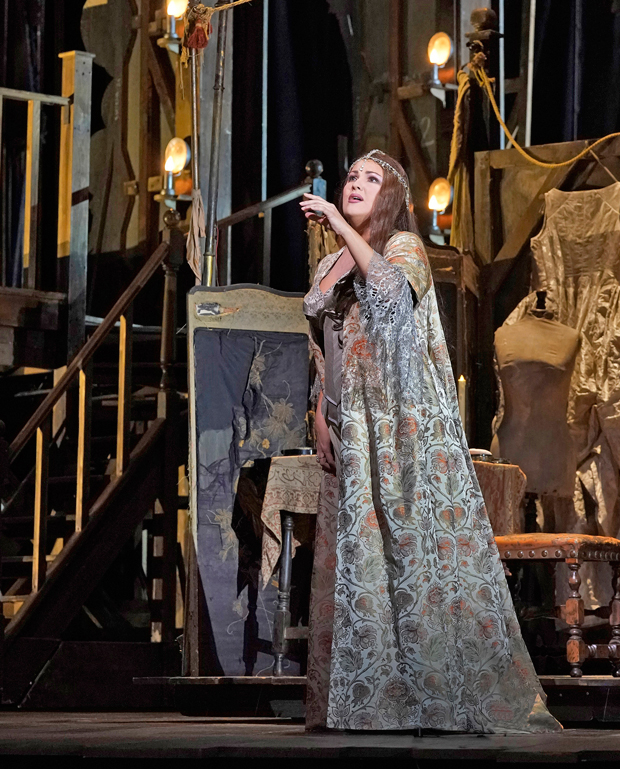 A Theatrical Love Triangle Returns To The Met In Adriana Lecouvreur