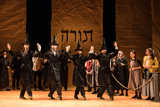 """The new Fiddler on the Roof choreography by Staś Kmieć includes the iconic """"Bottle Dance"""" created by Jerome Robbins."""