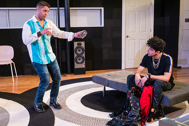 Wilson Jermaine Heredia plays Tommy Solis, and Sebastian Chacon plays Danny Solis in Original Sound.