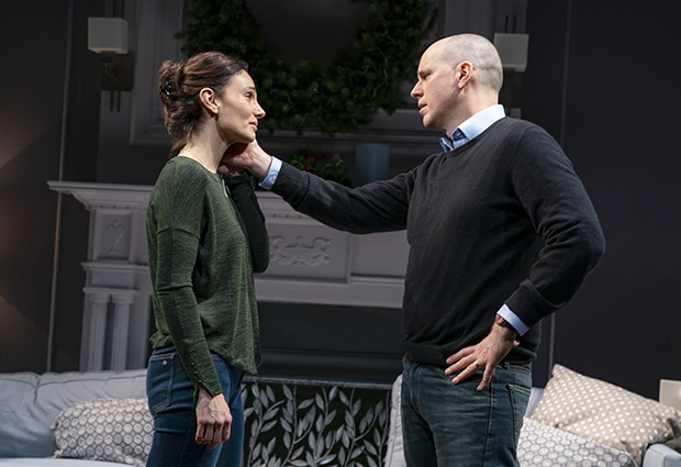Annie Parisse and Kelly AuCoin in Long Lost.