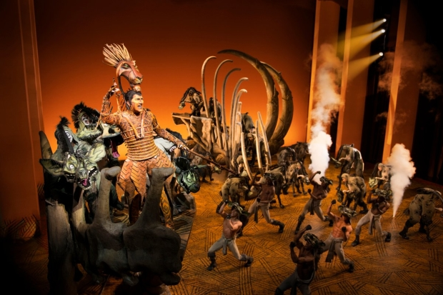 The Lion King Marks 9000 Performances On Broadway Tonight