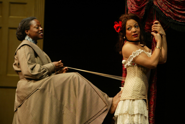 195a0591154 Viola Davis as Esther and Lauren Vélez as Mamie in the original off-Broadway  production