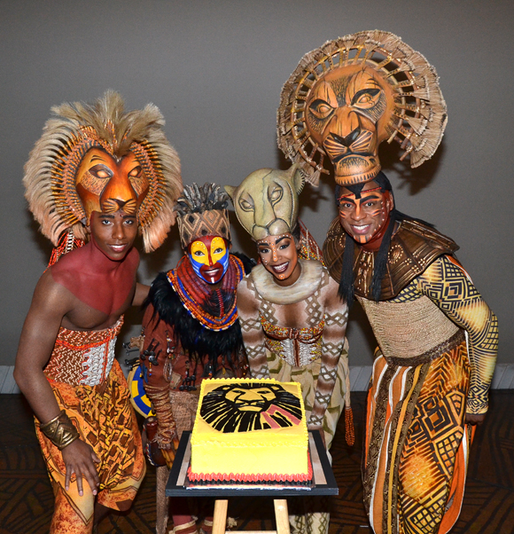 Disney S The Lion King Celebrates 17 Years On Broadway Theatermania
