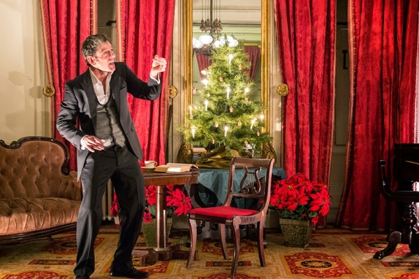 Christmas Carol Ghosts.The Ghosts Of Christmas Past Present And Future Visit A